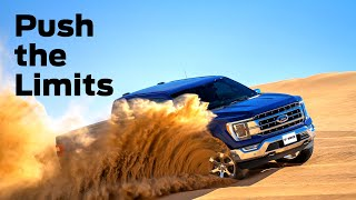The 2021 Ford F-150 PowerBoost redefines strength and productivity