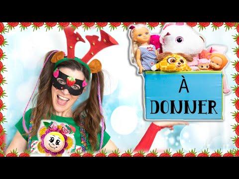 🍓-petite-fÉe-donne-tous-ses-jouets-pour-enfants-sans-cadeaux-à-noël!-🤩anglais-pour-enfants-leçon-1