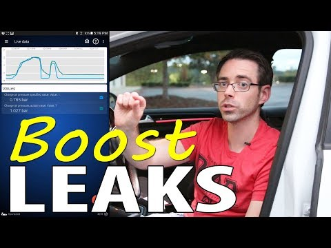 How to check your VW Audi for Boost Leaks