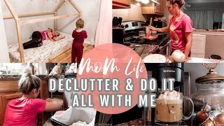 IT'S NOT ALWAYS PRETTY| Declutter & Do It All| DAY IN THE LIFE OF A MOM 2020| Tres Chic Mama