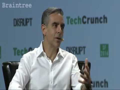 David Marcus, VP Messenger talks about Niki in the Techcrunch Disrupt, SF'16