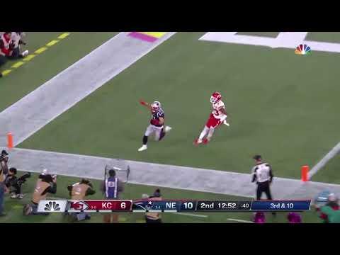 Julian Edelman Touchdown   Patriots vs Chiefs