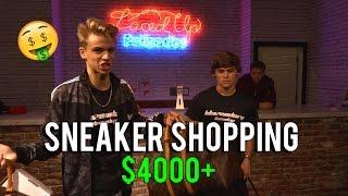 SNEAKER SHOPPING WITH BLAZENDARY ($4000+)!