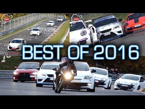 THAT WAS 2016 - Memories of PURE FUN - Video Compilation Nürburgring Nordschleife HinterHerFahrer