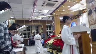 Publication Date: 2019-12-24 | Video Title: 聖類斯學校小聖堂平安夜子夜彌撒 20191224