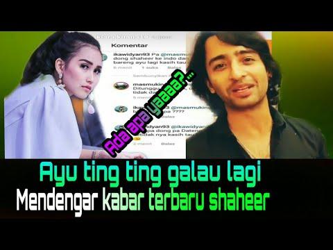 Ayu Ting Ting Bisa Galau Lagi ?...mendengar Kabar Terbaru Shaheer   AMEM TV