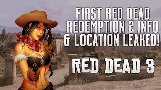 red dead redemption 2 leaked gameplay image map story location setting release date more