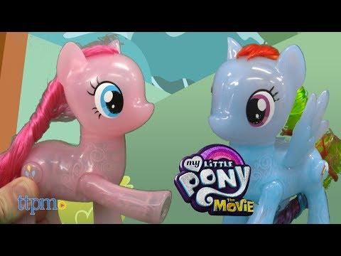 My Little Pony The Movie Shining Friends Rainbow Dash & Pinkie Pie From Hasbro