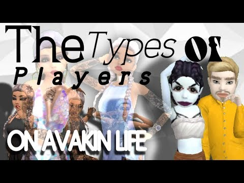 Types Of Players On Avakin Life