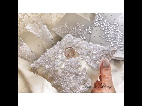Подушечка для колец, свадебные подушки для обручальных