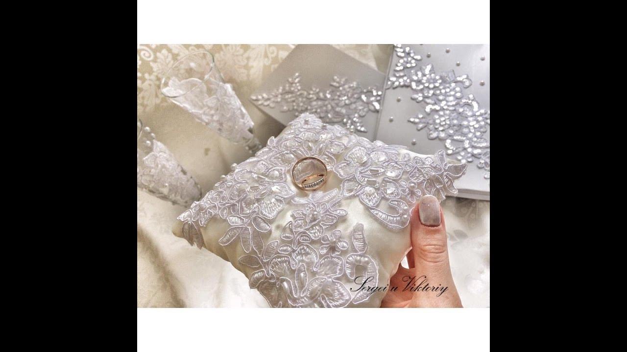 Как сделать подушечку для колец на свадьбу своими руками пошагово фото фото 690