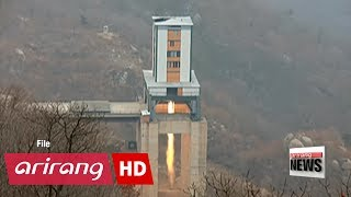 U.S. officials say North Korea tested rocket engine that could power ICBM