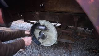 1959 Ford F-100 Brakes And Wheel Bearings Packed