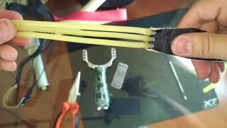 Рогатка из Китая с Алиэкспресс, убойная сила. Обзор рогатки из Китая