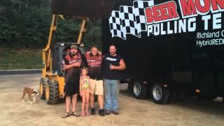 Beer money pulling team ice bucket challenge