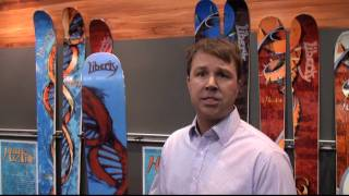 Sneak Preview 2011 Liberty Skis Helix, Double Helix & Genome