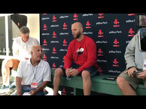 Dustin Pedroia knee surgery update: Red Sox second baseman running on anti-gravity treadmill (video)
