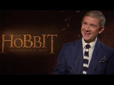 The Hobbit interviews: Martin Freeman, Evangeline Lilly & Benedict Cumberbatch