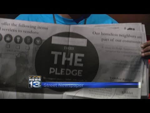 Local group starts 'street newspaper' focusing on homeless issues