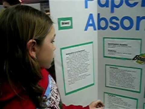 Katie's Science Fair Project - YouTube