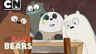we bare bears panda paints cartoon network