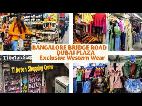 Bridge Road Shopping | Dubai Plaza Best Place For Shopping In Bangalore|Bangalore Street Shopping🛍️