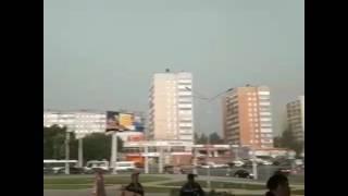 Шаровая молния в Рязани 30.06.17г. #ШАРОВАЯ_молния #Рязань #ливень30_06_17 #мобильныйрепортер