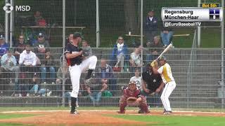 BASEBALL BUNDESLIGA HIGHLIGHTS: Regensburg 8, Haar 1