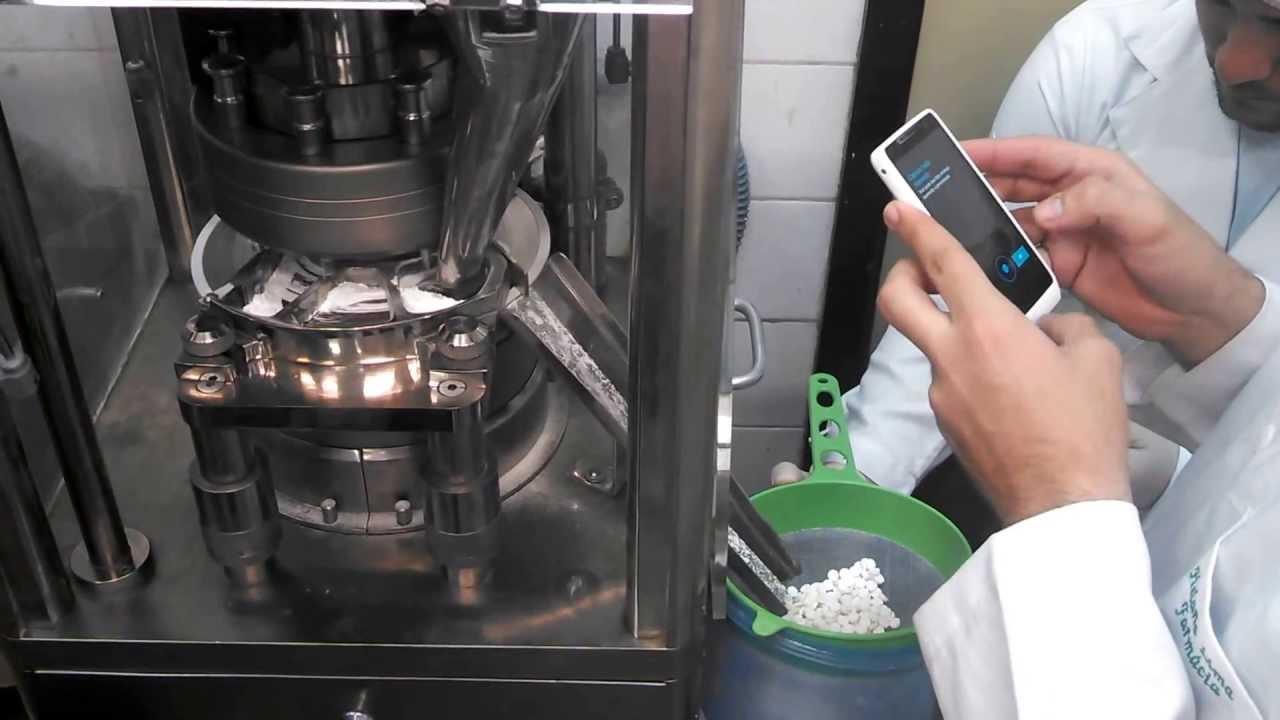 Máquina de Comprimir - Farmacotécnica II - YouTube