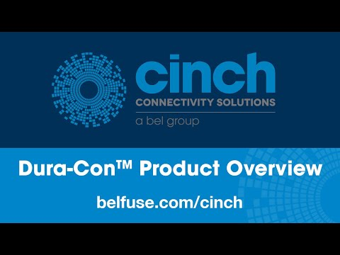 Dura-Con™ Product Overview