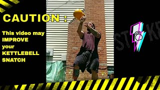 IMPROVE Your Kettlebell Snatch : Slow Motion with Commentary from Joe Daniels