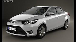 3D Model Toyota Yaris sedan 2014 at 3DExport.com