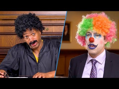 Judge Willy vs The Clown  Marlon Wayans