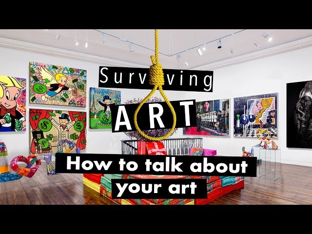 How to talk about your art