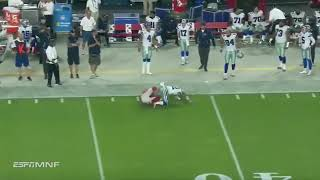 Larry Fitzgerald UNBELIEVABLE Monday Night Football Catch | Catch of the Year?