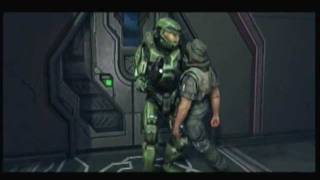 Halo: Anniversary - The Flood (Cutscene and Gameplay)