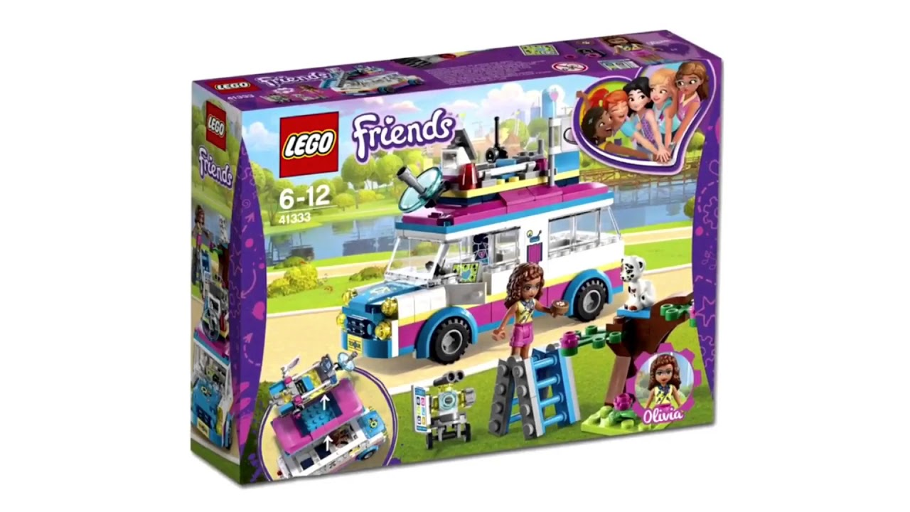 5 new lego friends 2018 sets youtube. Black Bedroom Furniture Sets. Home Design Ideas