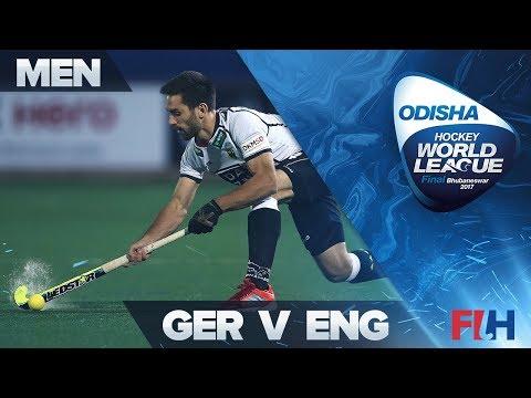 Germany v England - Odisha Men's Hockey World League Final - Bhubaneswar, India