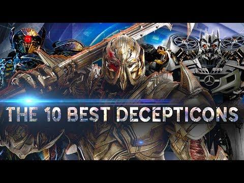 10อันดับหุ่นทรานเฟอร์เมอร์ที่เก่งที่สุดฝั่งดีเซปติคอนส์ The 10 best decepticons (Movies)