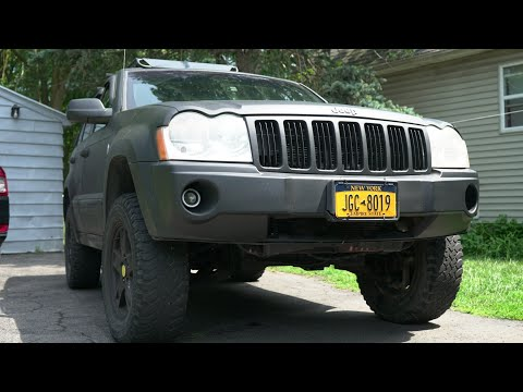 Everything Wrong with my LIFTED 2005 Jeep Grand Cherokee WK Project