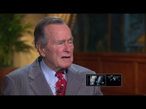 CNN Official Interview: George Bush: Jeb would be a good president