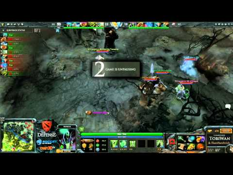 The Defense 3 - VirtusPro vs Evil Geniuses Game 2
