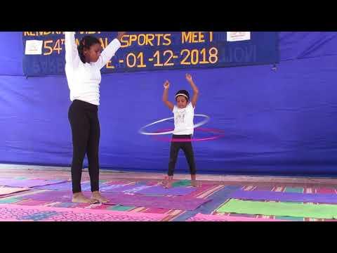 KENDRIYA VIDYALAYA IIT CHENNAI - ANNUAL SPORT'S DAY (YOGA DISPLAY)