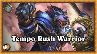 Hearthstone: Tempo Rush Warrior - Coming At You Live