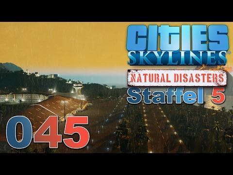 CITIES SKYLINES 🏙 ► [S5 045] Flughafen auf dem Berg ► Cities: Skylines - Natural Disasters