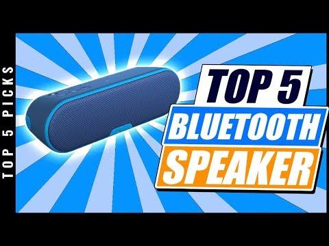 Top 5 Best Bluetooth Speaker of [2019]