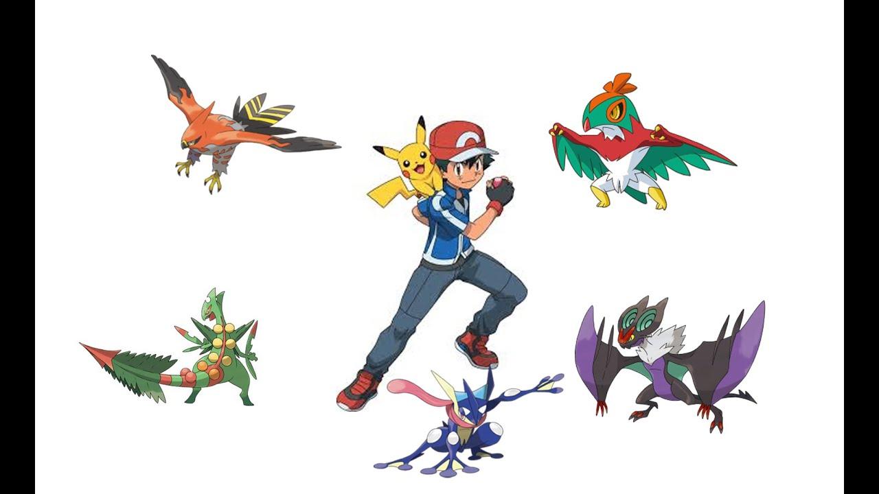 Pokemon xy anime discussion greninja new look novern - Pokemon xy mega pokemon ...