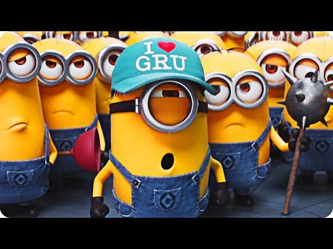 DESPICABLE ME 3 - MINIONS & GRU's All Funny Moments