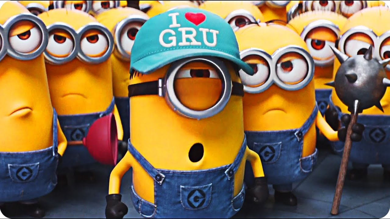 Image result for gru and the minions