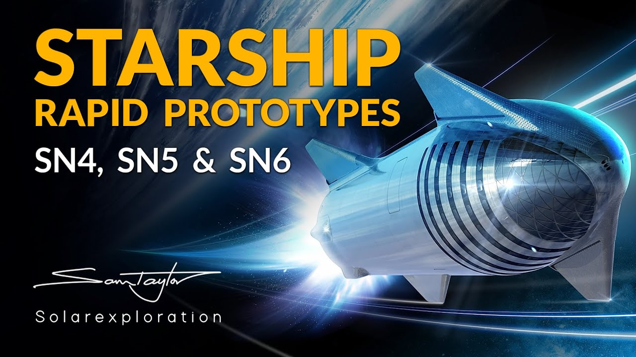 SpaceX Starship Update with SN4, SN5, SN6, SpaceX Demo 2, Mars Rover 2020 News and Starlink launch